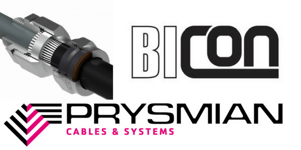 CW Aluminium Cable Gland Kits – Prysmian Bicon KA422 Glands (AWA Aluminium Wire Armoured Cable Terminations)