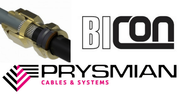 CW Brass Cable Gland Kits – Prysmian Bicon KA419 Glands (SWA Steel Wire Armoured Cable Terminations)