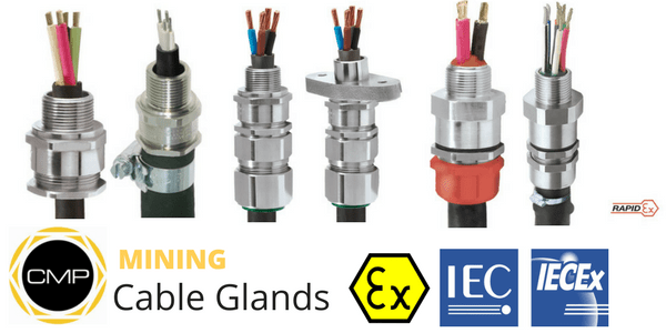Cable Glands - Mining Cable Glands - CMP
