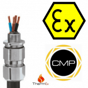 Explosive Atmosphere Cable Glands For Armoured Cables High Temperature Ex e, Ex ta – CMP C2KHT