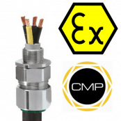 Explosive Atmosphere Cable Glands For Steel & Aluminium Wire Armoured Cables Ex e, Ex ta – CMP CWe