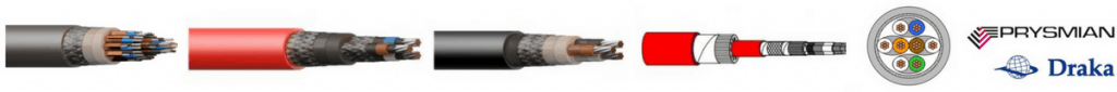 Hazardous Area Offshore - Cables Joints Glands Cleats MV HV