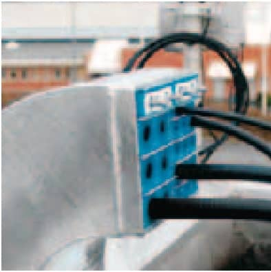 Roxtec Swan Neck Cable Transit Frame