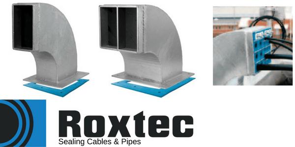 Roxtec Swan Neck Cable Transit Frames