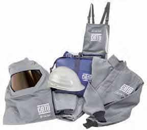 100 Cal Arc Flash Protection - CATU KIT-ARC-100 Clothing & PPE Kits