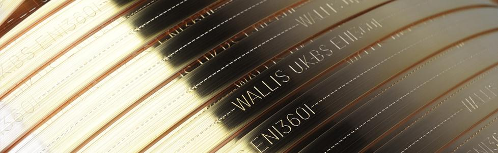 AN Wallis Earth Tapes Earth Bars Copper
