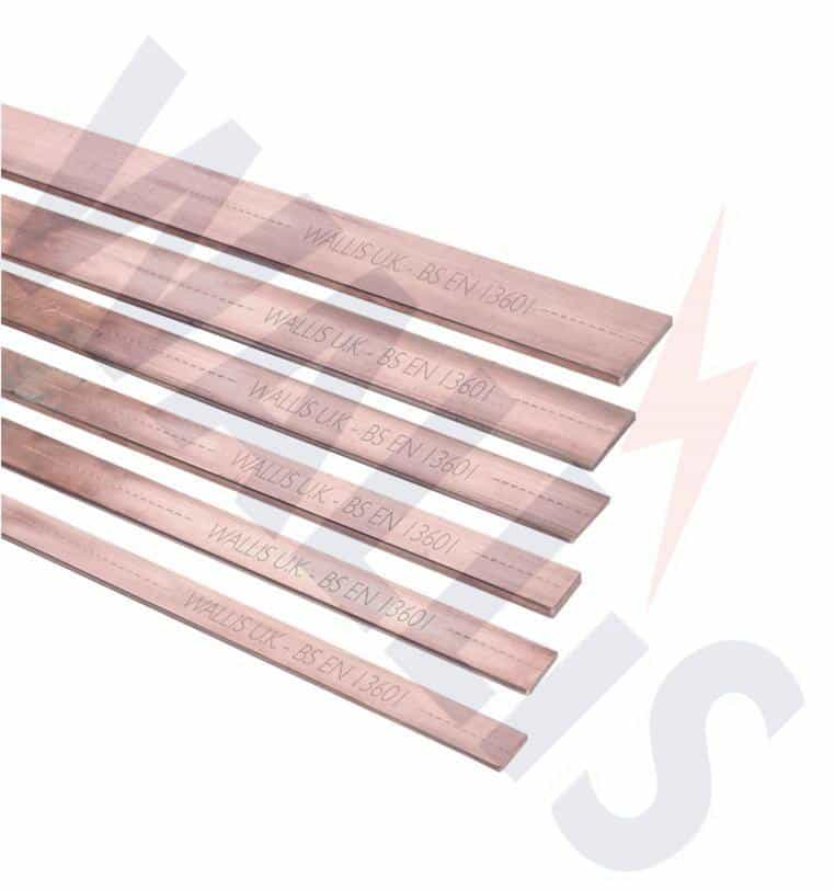 Bare Copper Earthing Tape - AN Wallis