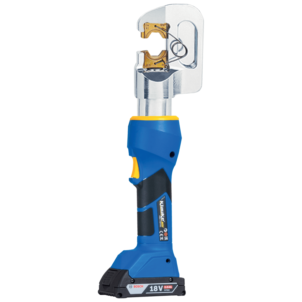 Battery Powered Cable Crimping Tool 6-185sqmm - Klauke EK50/18