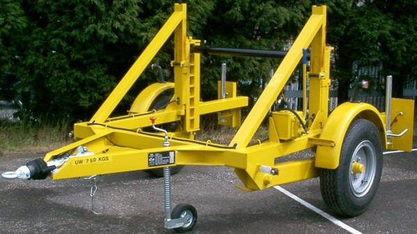 Cable Drum Trailers Up To 2500mm Diameter Drums - SEB CD60S