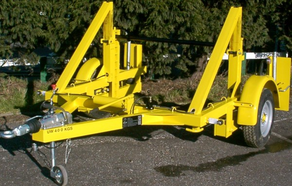 Cable Drum Trailers Up To 2500mm Diameter Drums - SEB CD70