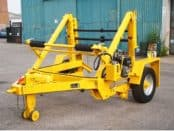 Cable Drum Trailers Up To 3500mm Diameter Drums – SEB CD250S
