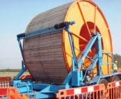 Cable Drum Trailers Up To 4540mm Diameter Drums – SEB CD310S