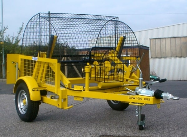 Cable Drum Trailers Up To 1070mm Diameter Drums - SEB CD20