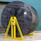 Cable Jack Towers For Heavy Cable Drum Lifting (Up To 40 Tonnes)