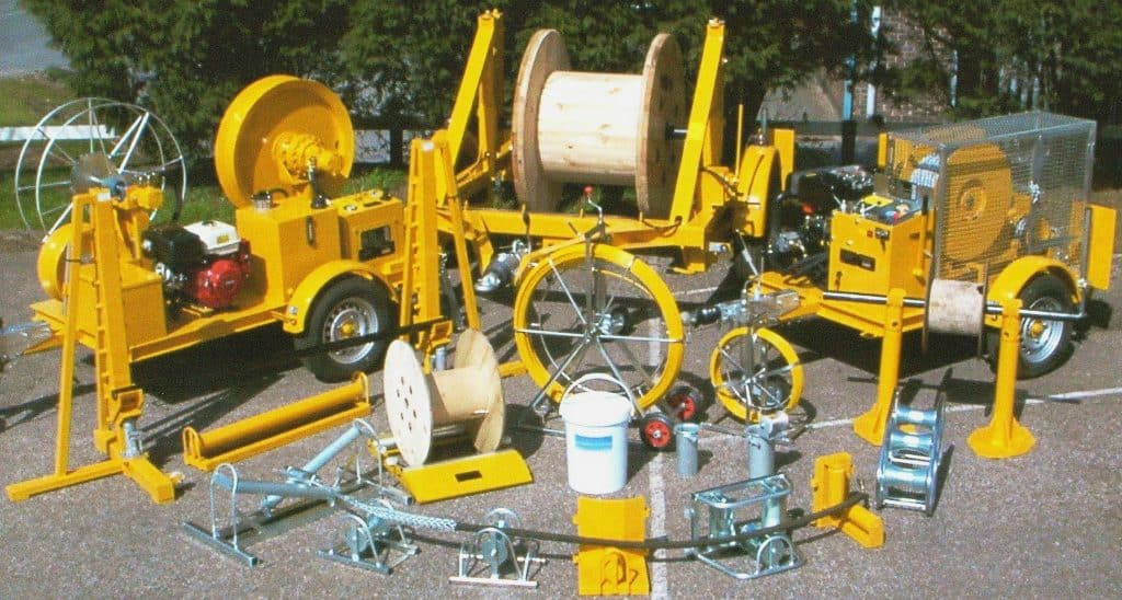 Cable Pulling Cable Laying Equipment