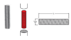 Coupling Dowels - Dimensions