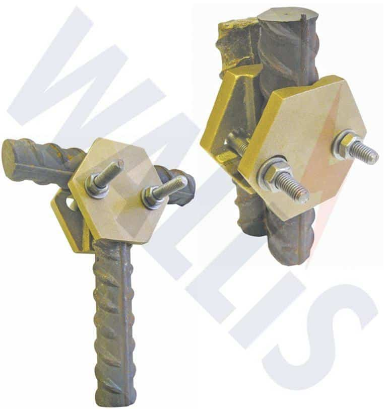 Rebar To Rebar Amp Copper Earth Cable Clamps Earth Rods Tapes