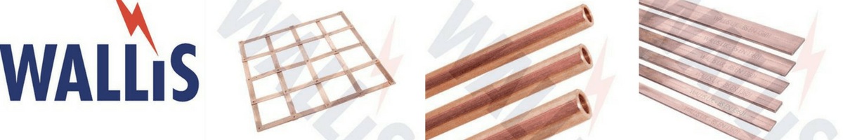 Earthing - Earth Bars Tapes Rods - Copper Earth Bars
