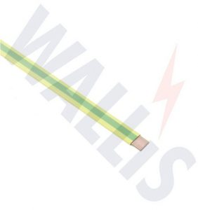 Green & Yellow PVC Copper Earthing Tapes