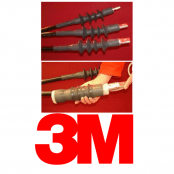 HV Cable Terminations – 11kV Outdoor Single Core 3M Cold Shrink