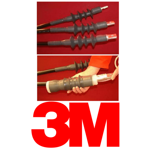 Hv Cable Terminations 11kv Outdoor 1 Core 3m Cold Shrink Qtiii