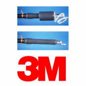 HV Cable Terminations – 11kV Indoor Single Core 3M Cold Shrink