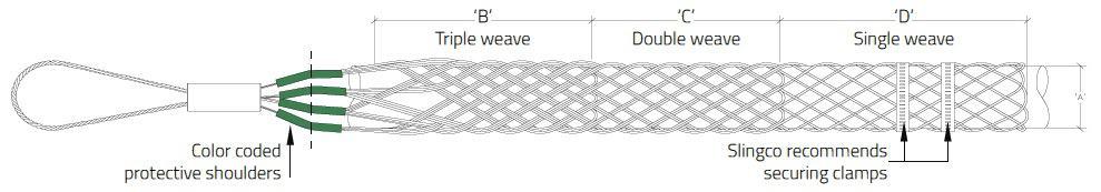 Multi Weave Cable Socks