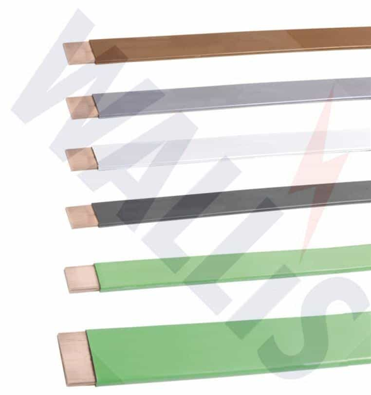 PVC Covered Copper Earthing Tapes