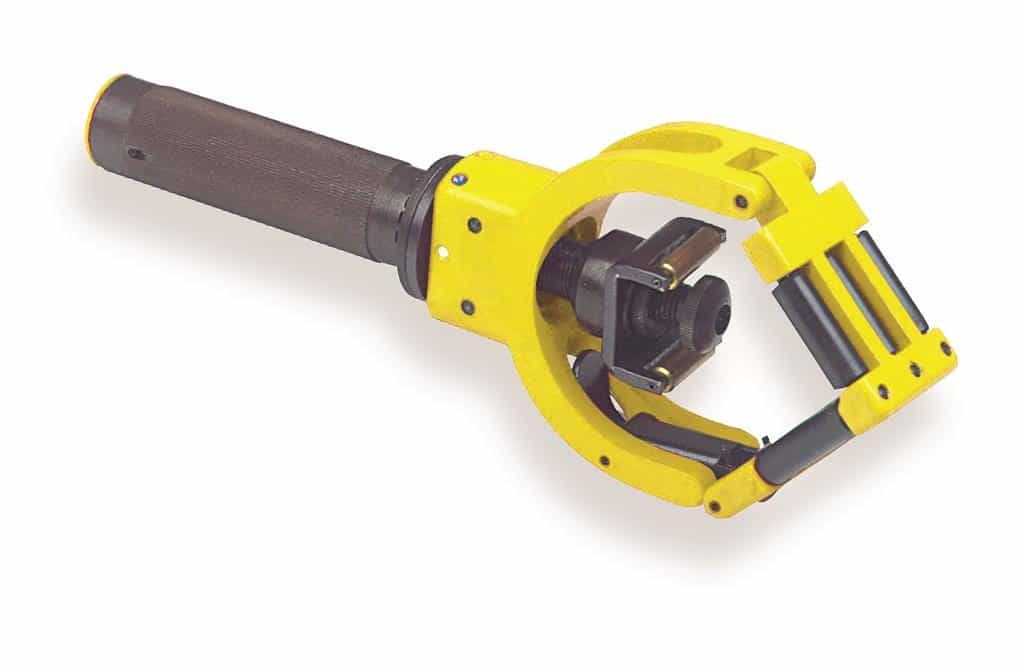 Large cable jacket stripper