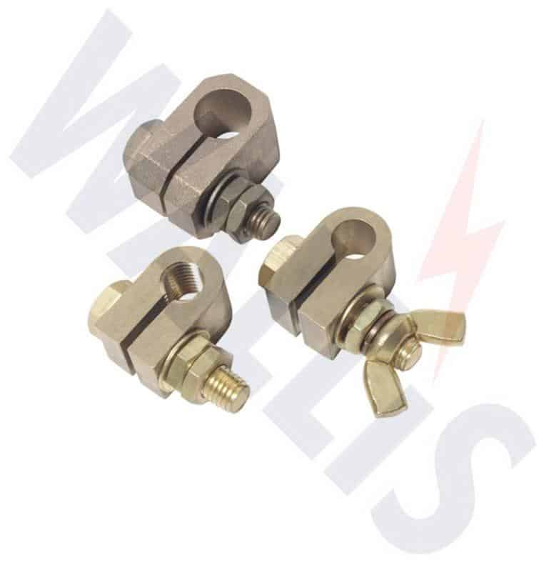 Split Connector Earth Clamps