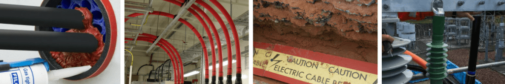 Substations - Cable Joints Duct Seals Cable Covers 11kV 33kV