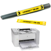 Cable Labels – Laser Labels (Tie-on & 2 Part Wire & Cable Labels)