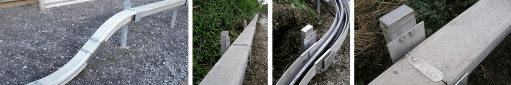 Cable Trough - Network Rail Approved Elevated Trough LV HV S&T Power Cables