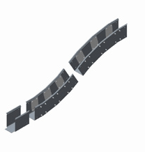 Elevated GRP Trough Adaptor - Concrete Ground Trough