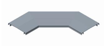 GRP Trough 90 Degree Flat Bend Lid