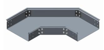 GRP Trough 90 Degree Flat Bend