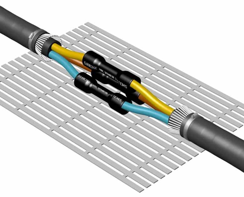 Cable Joints Using Heat Shrink Tubes 600V 1000V Low Voltage Cables