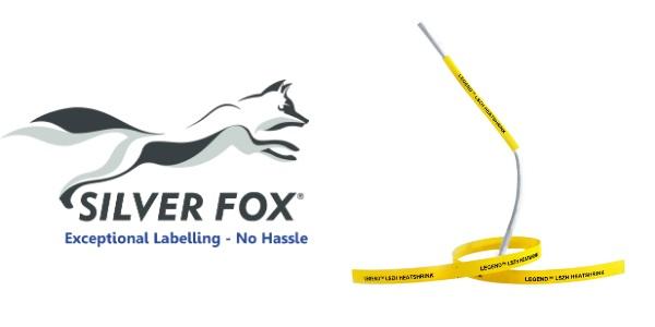 Low Smoke Zero Halogen Heatshrink Cable Labels (Polyolefin) – Silver Fox Legend LHLZ/C