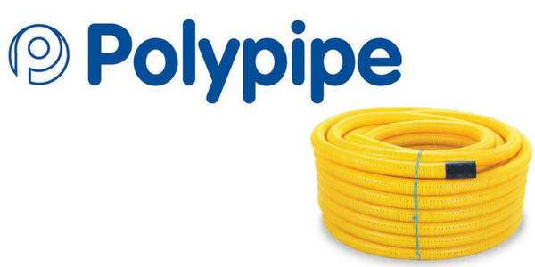 Gas Pipe Ducting (Yellow Gas Utility Coils)