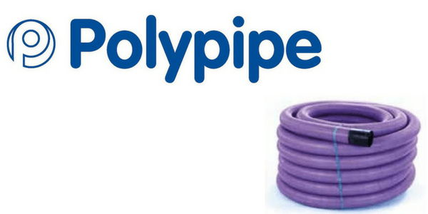 Polypipe Ridgicoil Scottish Street Lighting Cable Duct