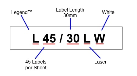 Silver Fox L45/30LW - Product Codes Explained