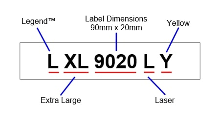 Silver Fox LXL9020L - Product Codes Explained
