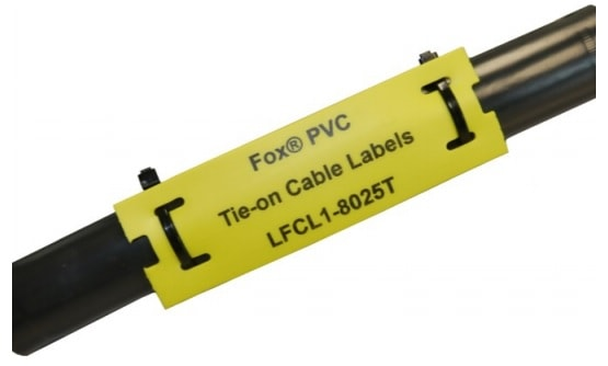e9791a47af6a Tie-on Cable Labels (PVC) - Silver Fox Fox - Thermal Cable Labels