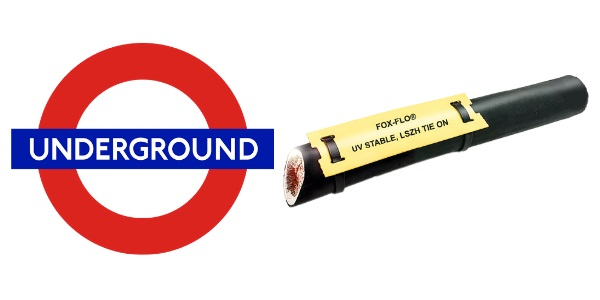 Tie-on LS0H Cable Labels – London Underground Approved