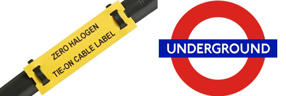 Tie-on LS0H Cable Labels - London Underground Approved