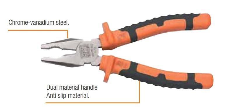 CATU Insulated Pliers IEC 60900