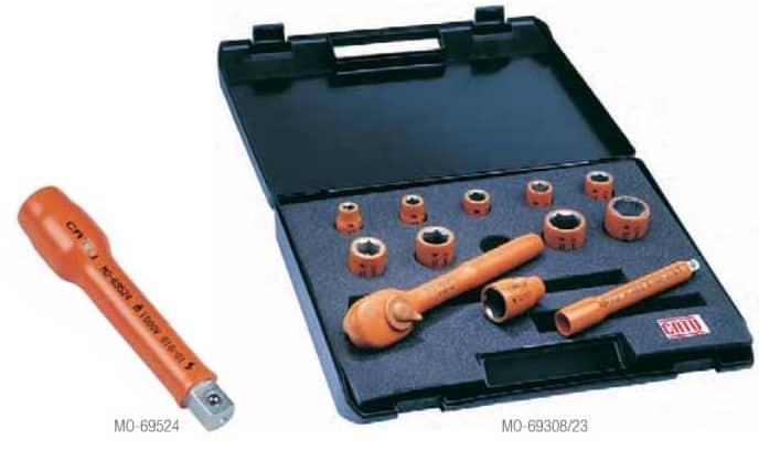CATU Insulated Socket Wrench Sets IEC 60900