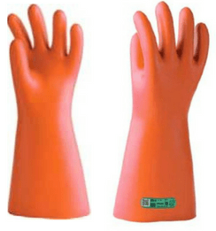 Class 1 Insulating Gloves - MV Medium Voltage Gloves 7500V (3.3kV 6.6kV)