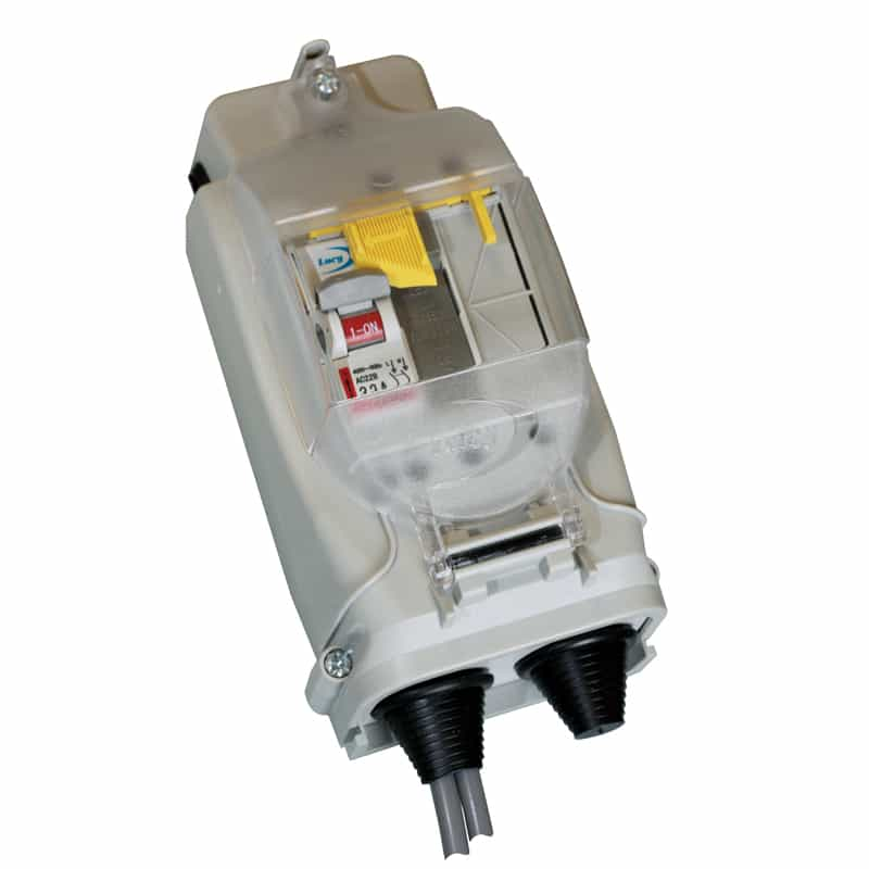 Lucy Trojan2 Midi Street Lighting Isolator 2/3 Way