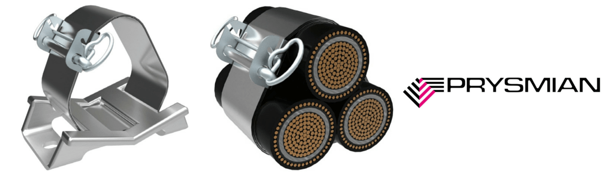 Prysmian BICON Multicleats – Cable Cleats